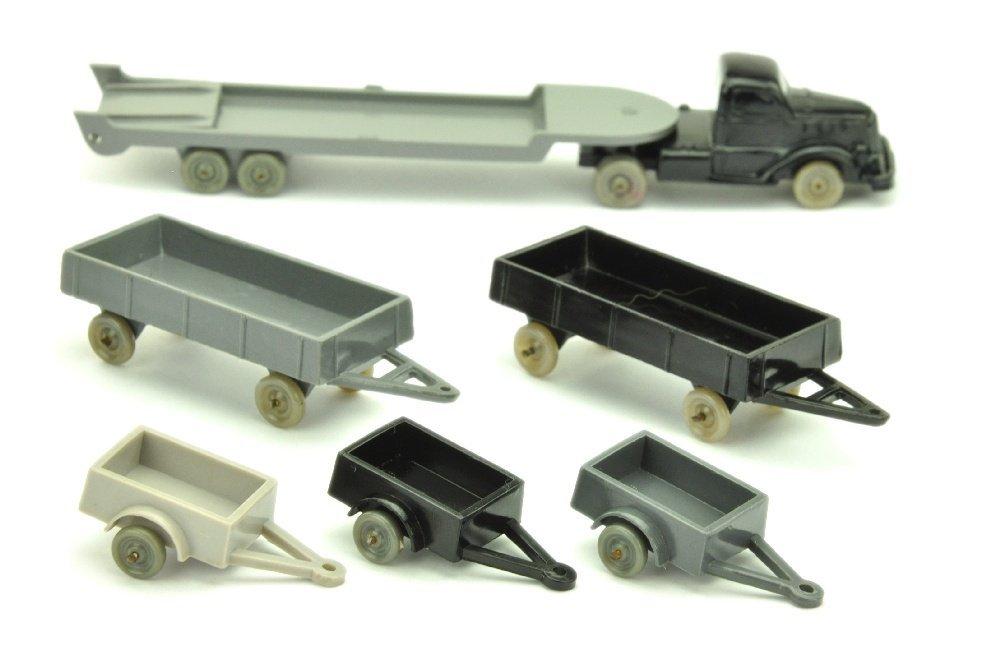 Konvolut 6 Drahtachser-Modelle