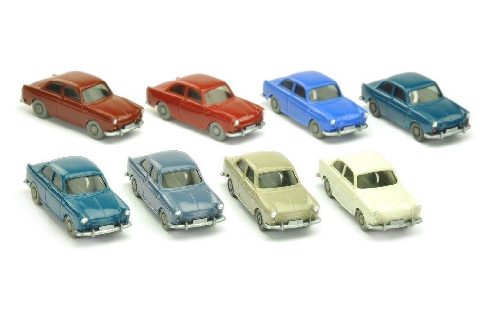 Konvolut 8 VW 1500 Stufenheck