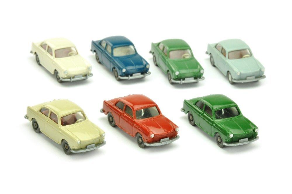 Konvolut 7 VW 1600 Stufenheck