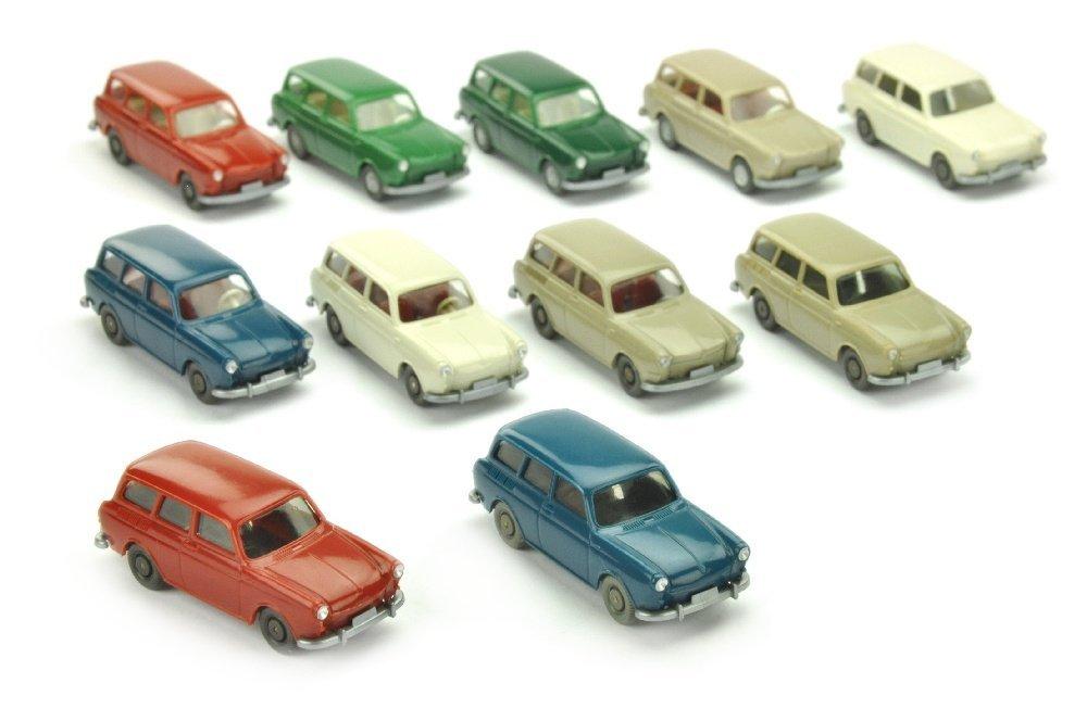 Konvolut 11 VW 1500/1600 Variant
