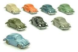 Konvolut 8 unverglaste VW Kaefer Typ 4