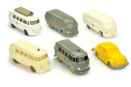 Konvolut 6 Modelle der 50er60er Jahre