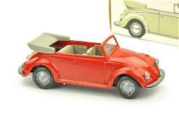 VW Kaefer Cabrio (Typ 3), rot (im Ork)