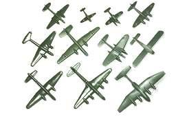 Konvolut 11 Flugzeuge Dr Grope