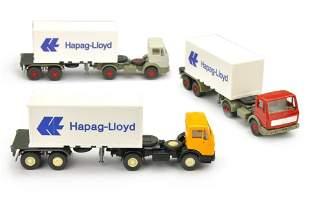 Konvolut 3 MB 1617-Hapag-Lloyd-Container-LKW