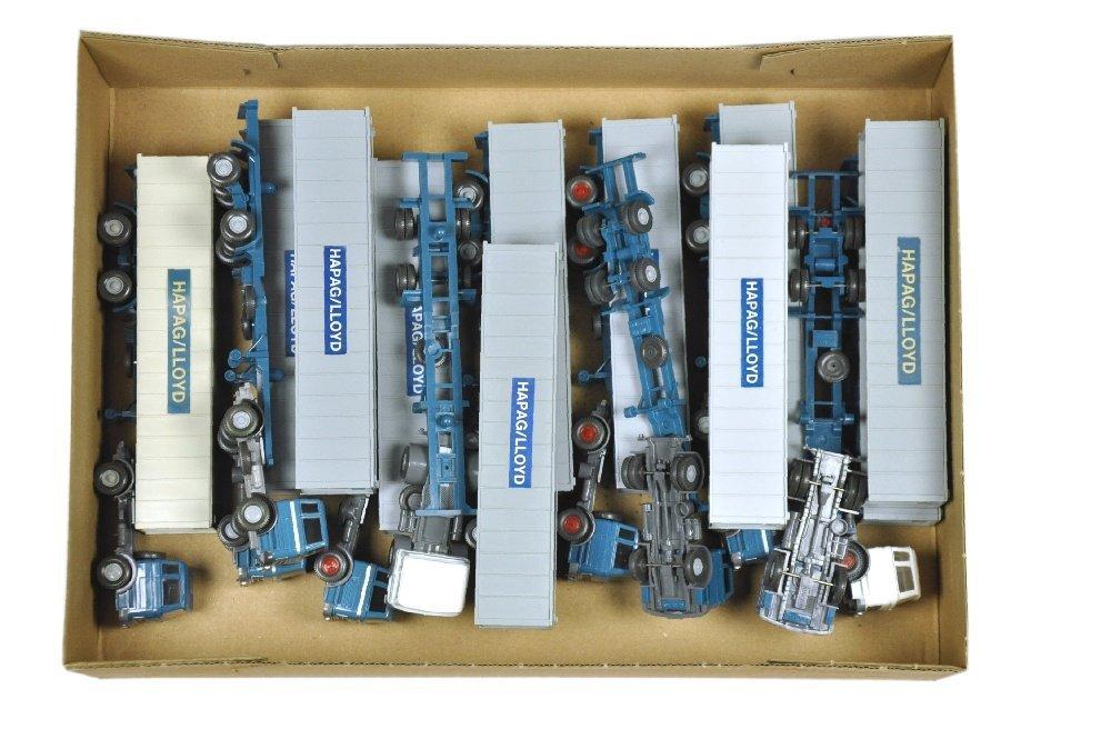 Konvolut 11 MB 1620-Hapag-Lloyd-Container-LKW