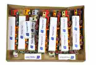 Konvolut 14 Hapag-Lloyd-Container-LKW