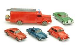 Konvolut 5 Modelle der 60er70er Jahre