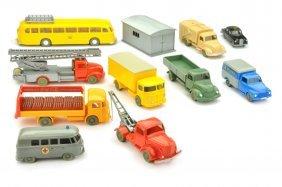 Konvolut 11 Modelle Der 60er Jahre