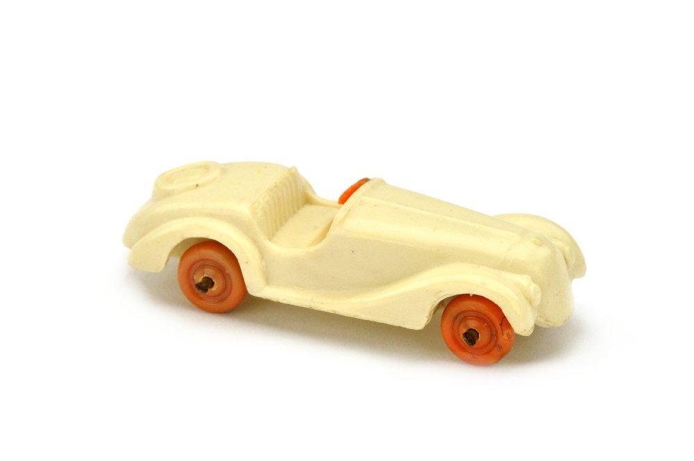 Sportzweisitzer, cremeweiss (Raeder orange)
