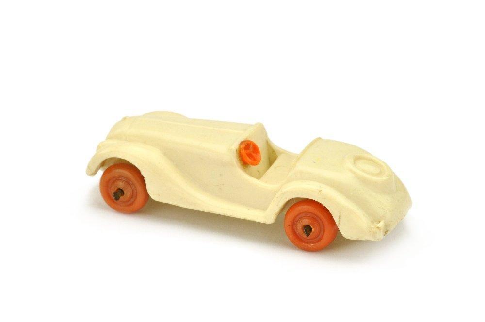 Sportzweisitzer, cremeweiss (Raeder orange) - 2