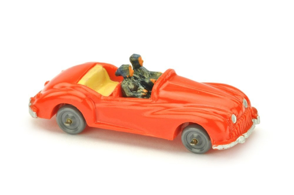 Sportviersitzer, orangerot