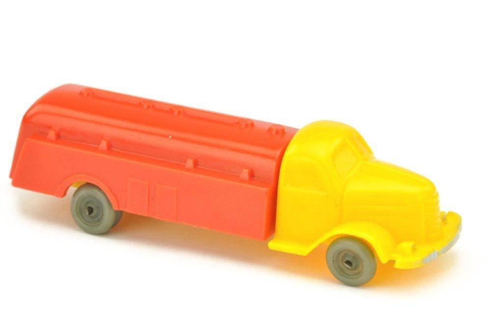 Tankwagen Dodge, gelb/orangerot