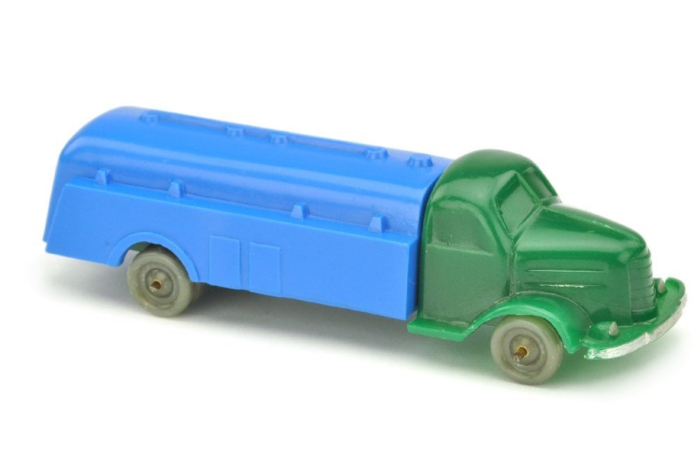 Tankwagen Dodge, dunkelgruen/himmelblau