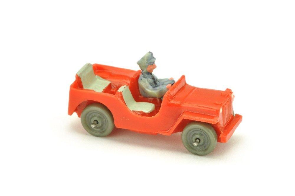 Jeep (Typ 2), orangerot