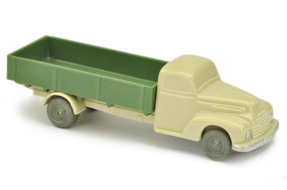Ford Pritsche, hellgelbgrau/dunkelmaigruen