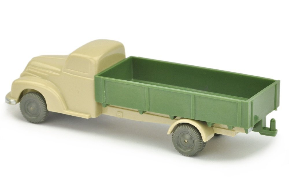 Ford Pritsche, hellgelbgrau/dunkelmaigruen - 2