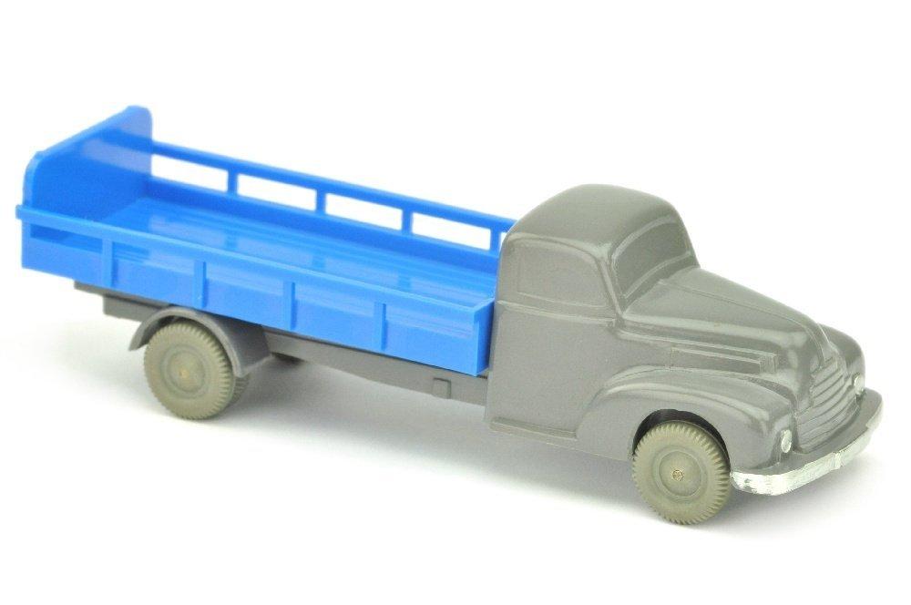 Milchwagen Ford, basaltgrau/himmelblau