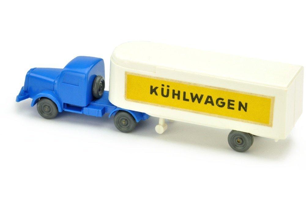 Sattelzug Henschel Kuehlwagen, weiss - 2