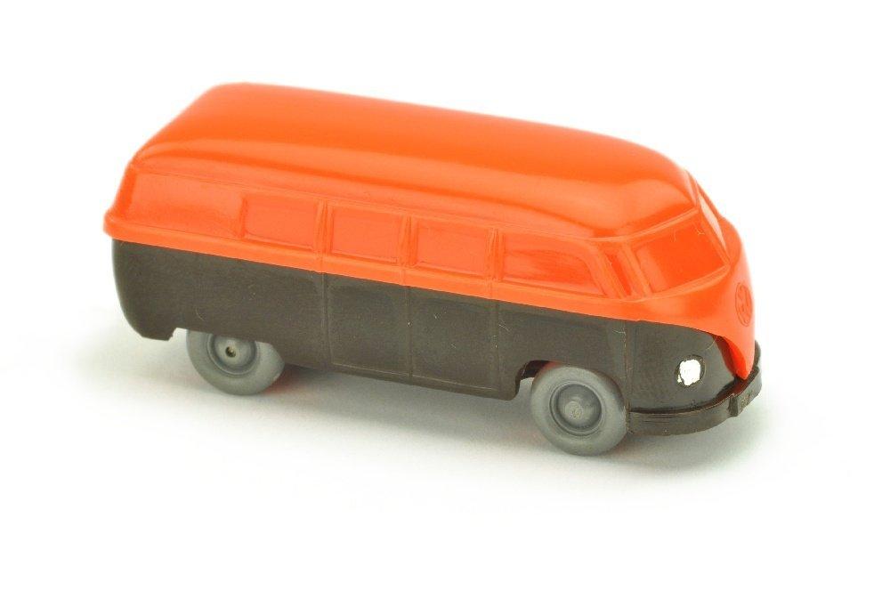 VW T1 Bus (Typ 3), orange/braunschwarz