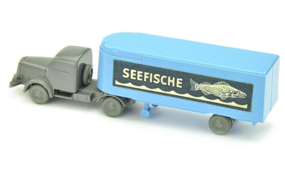 Sattelzug Henschel Seefische, lilablau - 2
