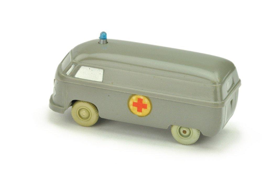 Krankenwagen VW Kasten (Typ 4), betongrau - 2