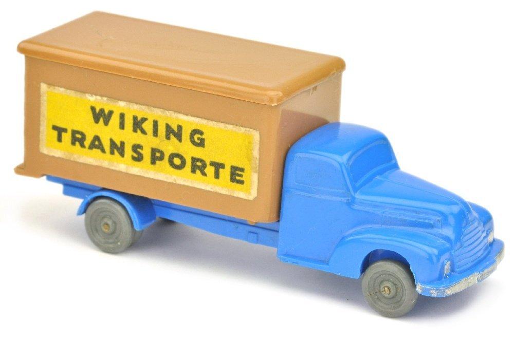 Koffer-LKW Ford, himmelblau/ockerbraun