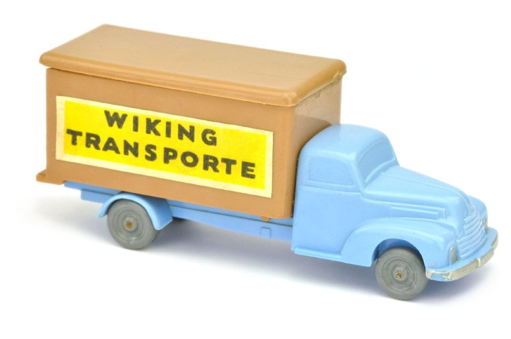 Koffer-LKW Ford, lilablau/ockerbraun