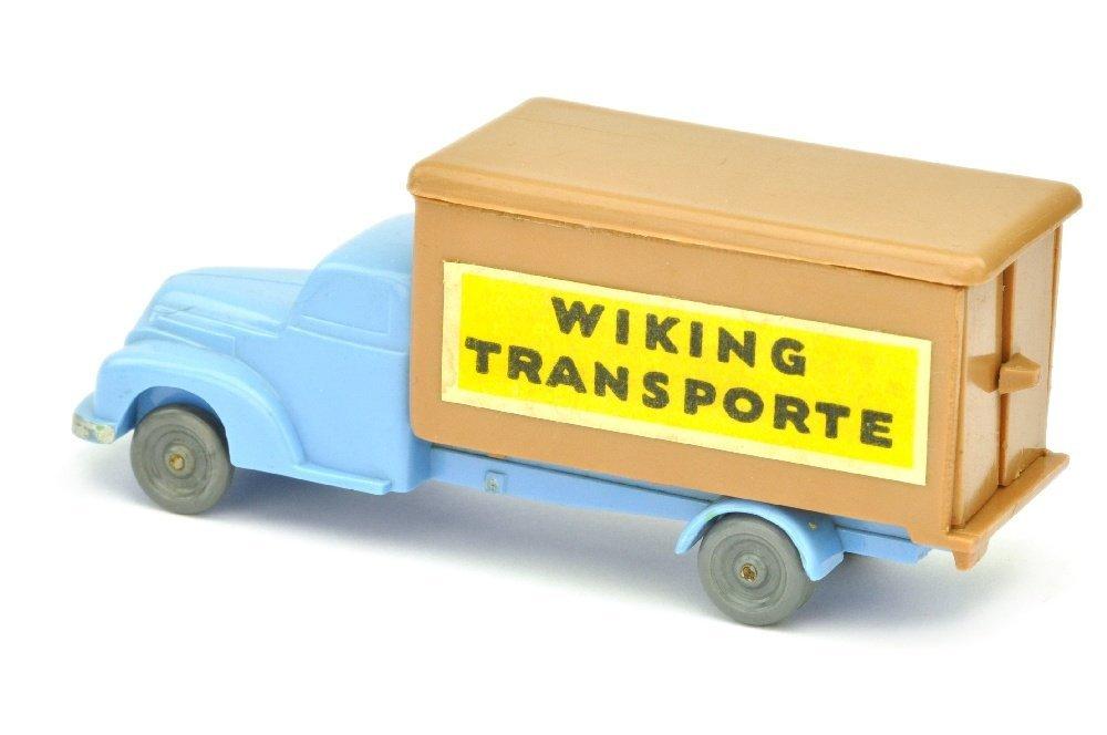 Koffer-LKW Ford, lilablau/ockerbraun - 2