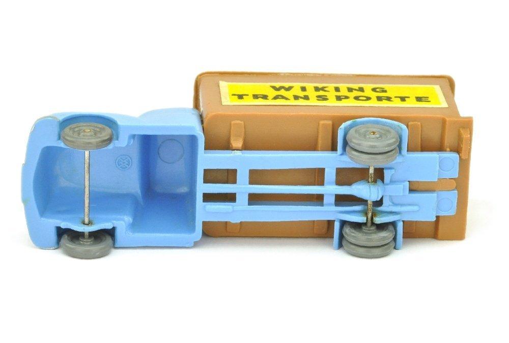 Koffer-LKW Ford, lilablau/ockerbraun - 3