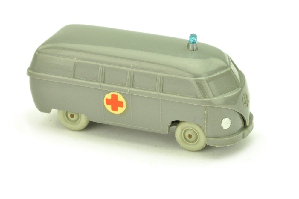 Krankenwagen VW Bus (Typ 4), betongrau