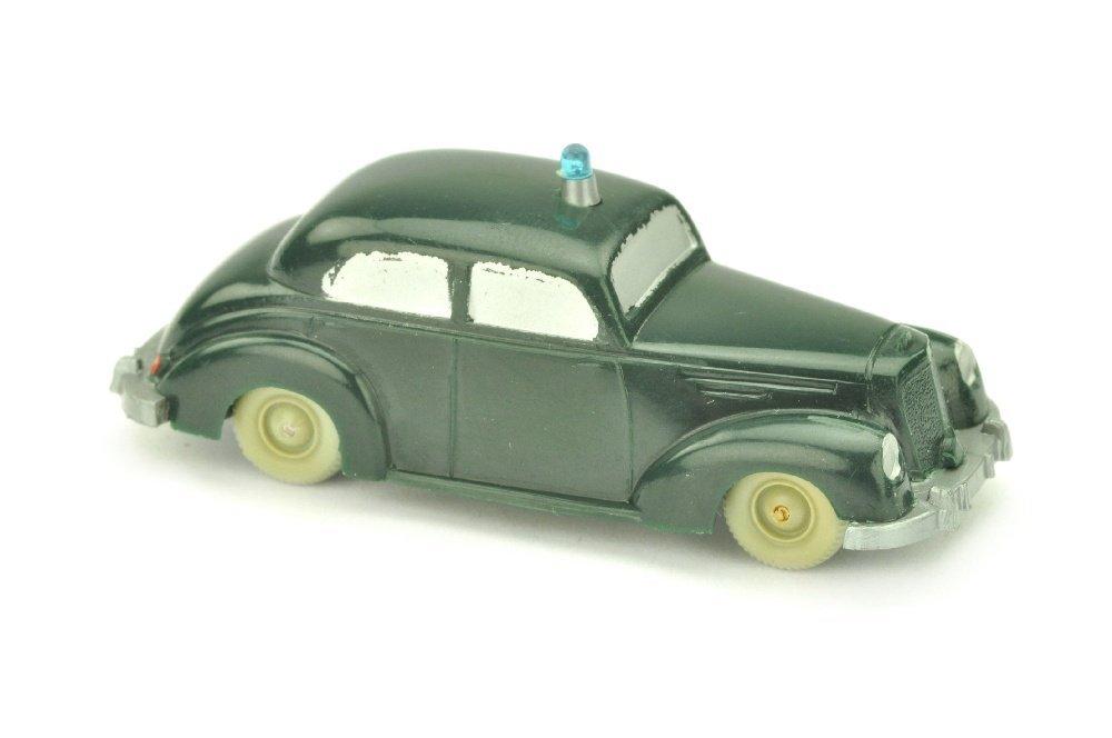 Polizeiwagen Mercedes 220 (gesilbert)