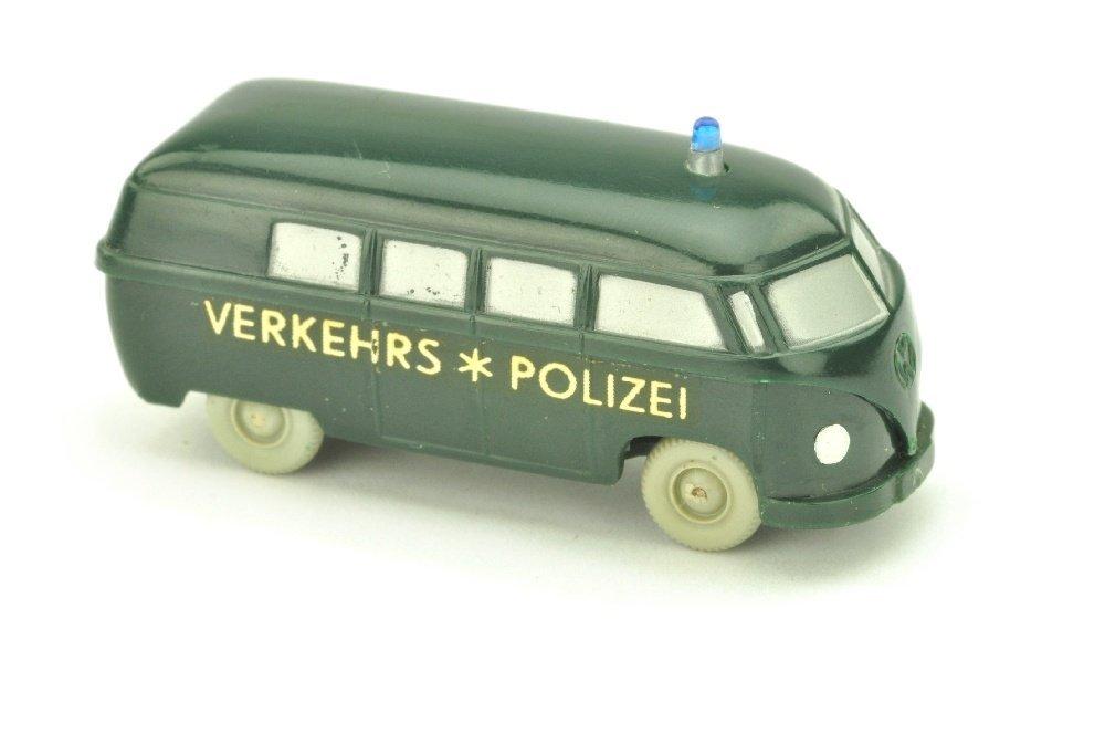 Polizeiwagen VW Bus (gesilbert)