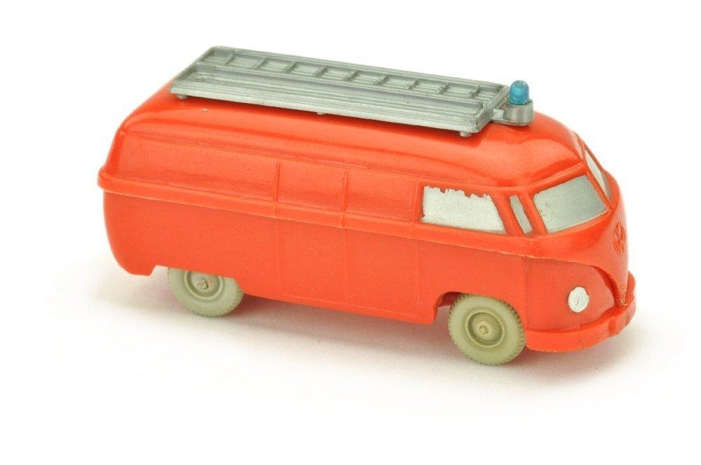 Feuerwehr VW Kasten (mit Aufbau, gesilbert)