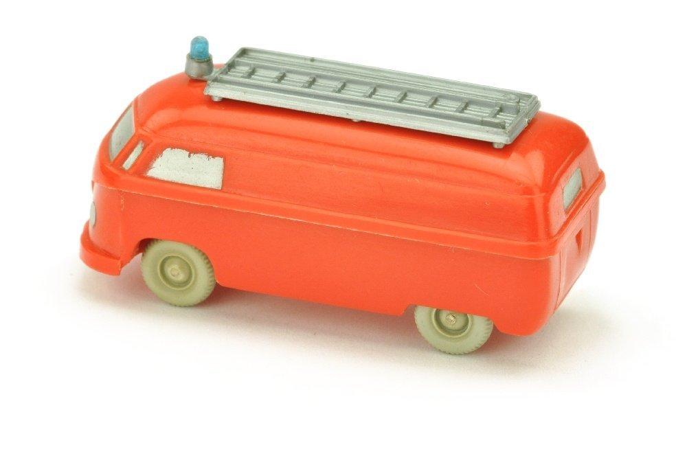 Feuerwehr VW Kasten (mit Aufbau, gesilbert) - 2