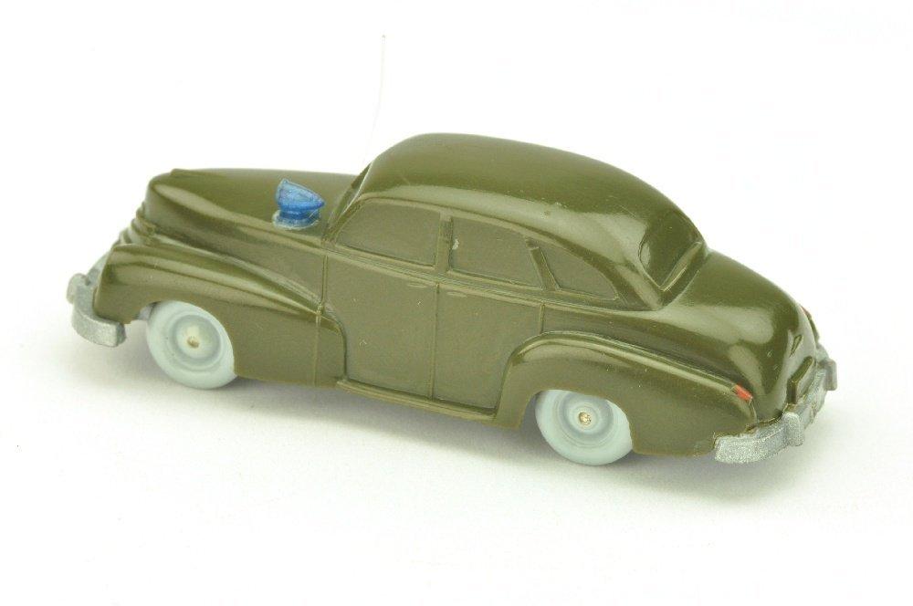 Polizeiwagen Opel Kapitaen, olivgruen - 2