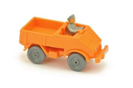 Unimog offen (Typ 1), orangegelb