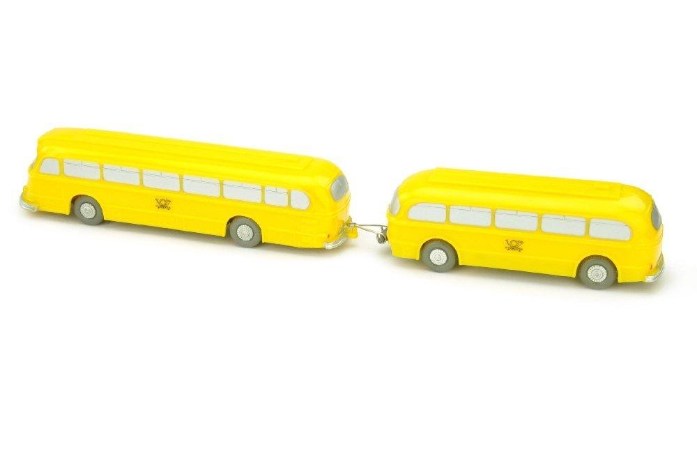 Postbus Mercedes O 6600 mit Anhaenger - 2