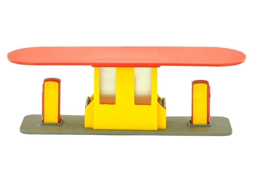 Grosse Tankstelle (neu), gelb/rot (Shell) - 2