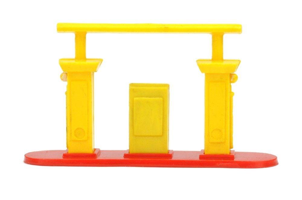 Kleine Tankstelle (Typ 1), gelb/rot - 2