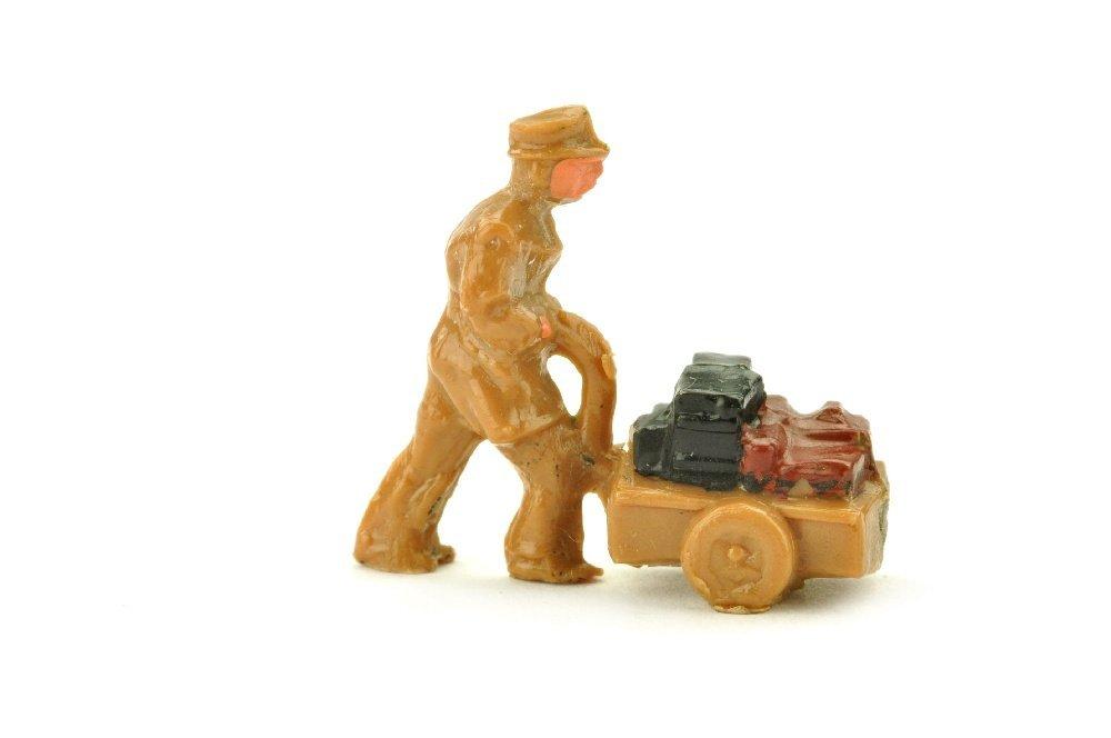 Handwagenfahrer (Typ 1), ockerbraun