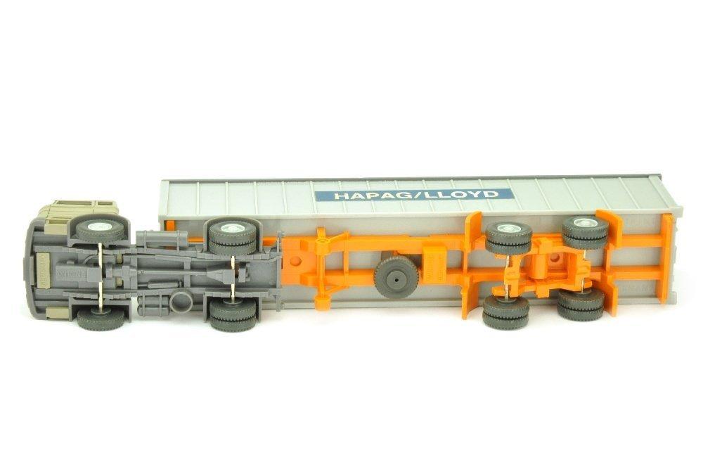 Hapag-Lloyd/2OO - MB 1620, olivgrau - 3
