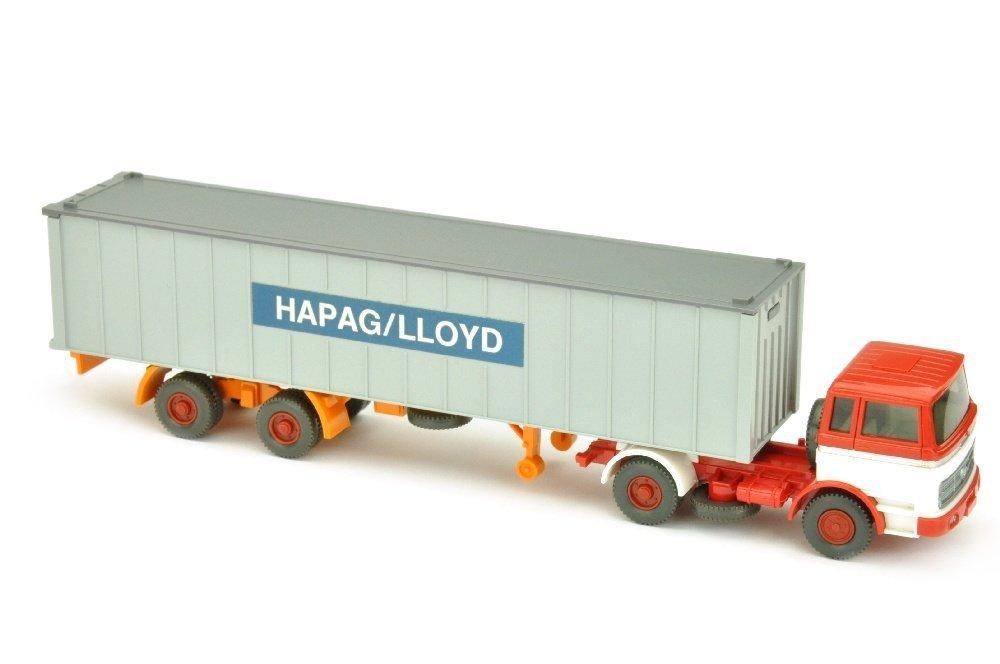 Hapag-Lloyd/2EP - MB 1620, rot/weiss