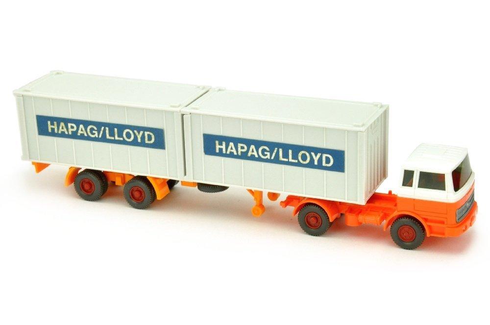 Hapag-Lloyd/2PC - MB 1620, weiss/h'-leuchtorange
