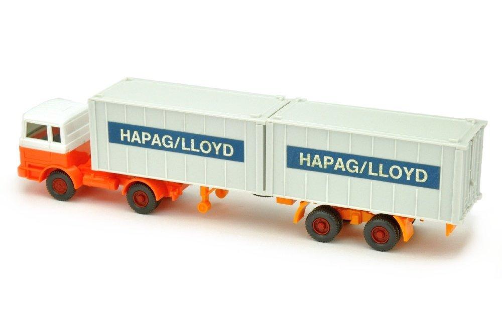 Hapag-Lloyd/2PC - MB 1620, weiss/h'-leuchtorange - 2