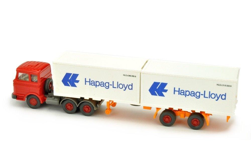 Hapag-Lloyd/9R - MB 2223, rot - 2