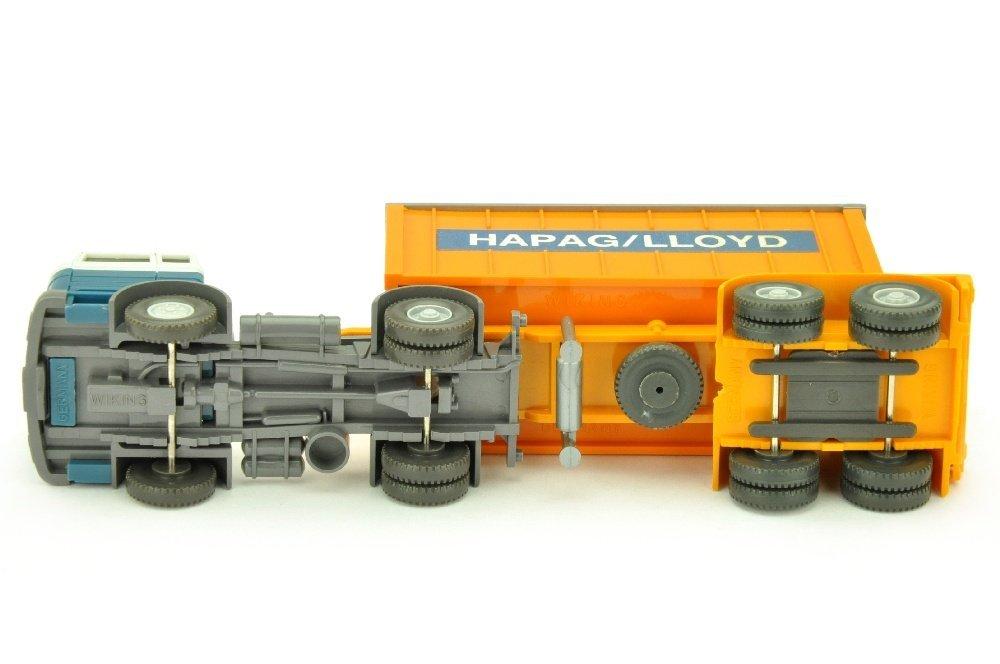 Hapag-Lloyd/3QG - MB 1620, altweiss/azurblau - 3