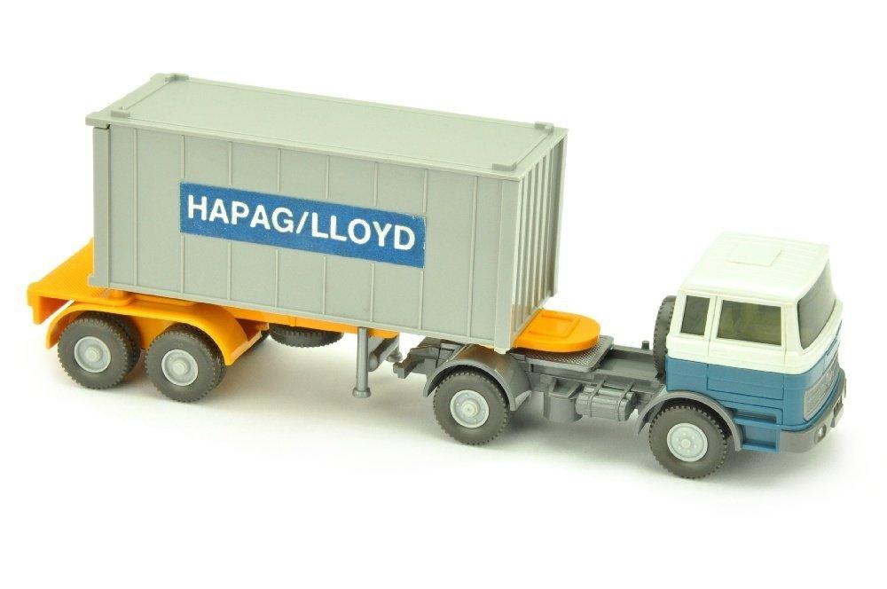 Hapag-Lloyd/3QG - MB 1620, altweiss/azurblau
