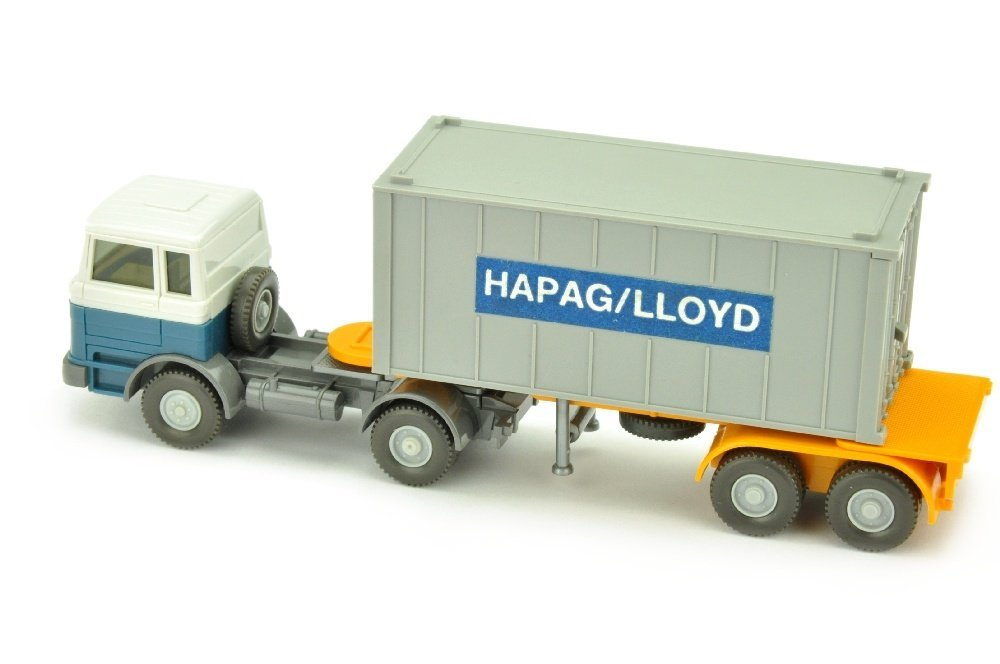 Hapag-Lloyd/3QG - MB 1620, altweiss/azurblau - 2