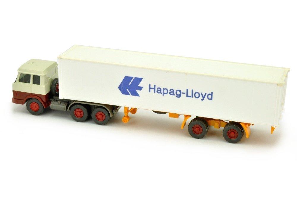 Hapag-Lloyd/7OL - Hanomag, perlweiss/rotbraun - 2